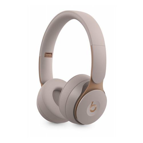Наушники с микрофоном BEATS Solo Pro Wireless Noise Cancelling, Bluetooth, накладные, серый [mrj82ee/a] BEATS