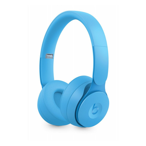 Наушники с микрофоном BEATS Solo Pro Wireless Noise Cancelling, Bluetooth, накладные, голубой [mrj92ee/a] BEATS