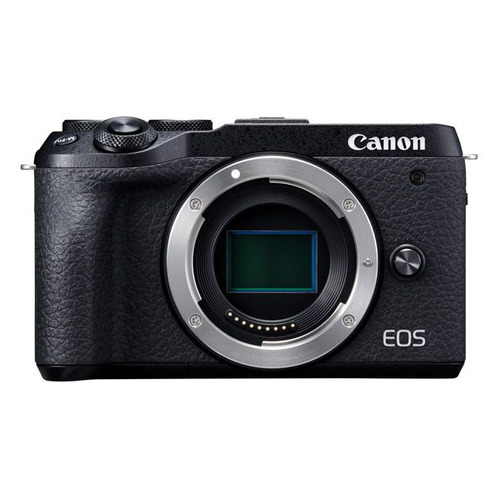 Фото - Фотоаппарат Canon EOS M6 Mark II черный 32.5Mpix 3 1080p WiFi LP-E17 (без объектива) ноутбук hp 17 ca1012ur amd ryzen 3 3200u 2600 mhz 17 3 1600x900 4gb 500gb dvd rw radeon vega 3 wi fi bluetooth windows 10