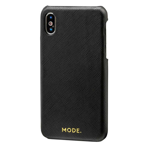 Чехол (клип-кейс) Mode London, для Apple iPhone X/XS, черный [loixnibl5098]