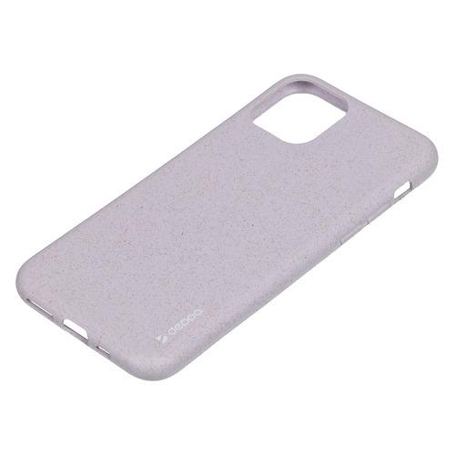 Чехол (клип-кейс) DEPPA Eco Case, для Apple iPhone 11, зеленый [87281] DEPPA