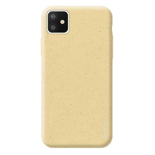 Чехол (клип-кейс) DEPPA Eco Case, для Apple iPhone 11, желтый [87278] DEPPA