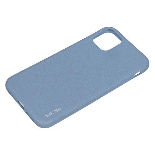 Фото - Чехол (клип-кейс) Deppa Eco Case, для Apple iPhone 11, голубой [87282] чехол клип кейс deppa eco case для apple iphone 11 голубой [87282]
