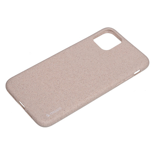Чехол (клип-кейс) DEPPA Eco Case, для Apple iPhone 11 Pro Max, розовый [87284] аксессуар чехол innovation для apple iphone 11 pro max silicone case crimson 16445