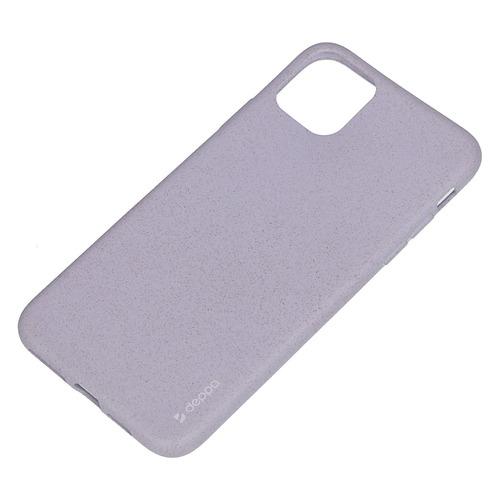 Фото - Чехол (клип-кейс) Deppa Eco Case, для Apple iPhone 11 Pro Max, лаванда [87285] чехол клип кейс deppa eco case для apple iphone 11 голубой [87282]