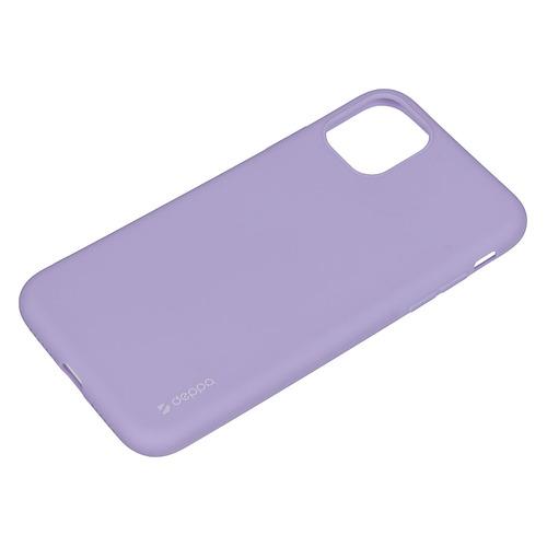 Чехол (клип-кейс) DEPPA Gel Color Basic, для Apple iPhone 11 Pro Max, синий [87232] DEPPA