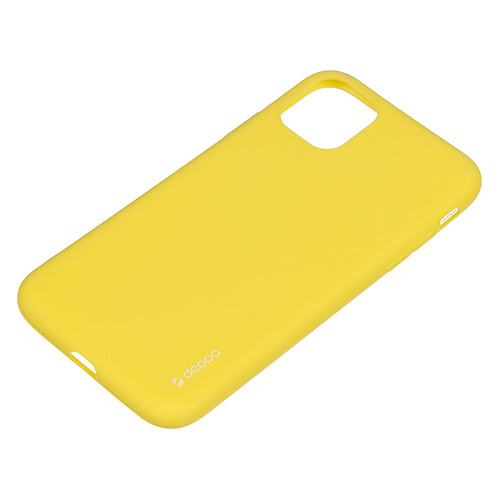 Чехол (клип-кейс) DEPPA Gel Color Case, для Apple iPhone 11, желтый [87245] DEPPA