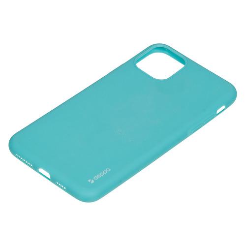 Чехол (клип-кейс) DEPPA Gel Color Case, для Apple iPhone 11 Pro Max, мятный [87249] чехол для смартфона для apple iphone 11 pro max deppa gel color case 87250 violet клип кейс полиуретан