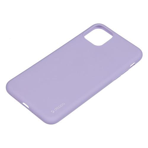Чехол (клип-кейс) DEPPA Gel Color Case, для Apple iPhone 11 Pro Max, лаванда [87250] чехол для смартфона для apple iphone 11 pro max deppa gel color case 87250 violet клип кейс полиуретан
