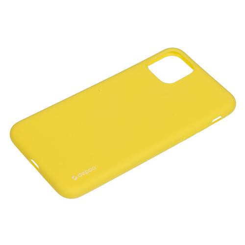 Чехол (клип-кейс) DEPPA Gel Color Case, для Apple iPhone 11 Pro Max, желтый [87251] чехол для смартфона для apple iphone 11 pro max deppa gel color case 87250 violet клип кейс полиуретан
