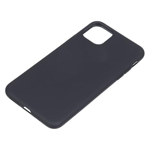 Чехол (клип-кейс) DEPPA Gel Color Basic, для Apple iPhone 11 Pro Max, черный [87231] чехол для смартфона для apple iphone 11 pro max deppa gel color case 87250 violet клип кейс полиуретан