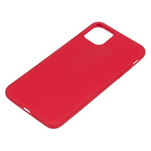 Чехол (клип-кейс) DEPPA Gel Color Basic, для Apple iPhone 11 Pro Max, красный [87233] чехол для смартфона для apple iphone 11 pro max deppa gel color case 87250 violet клип кейс полиуретан
