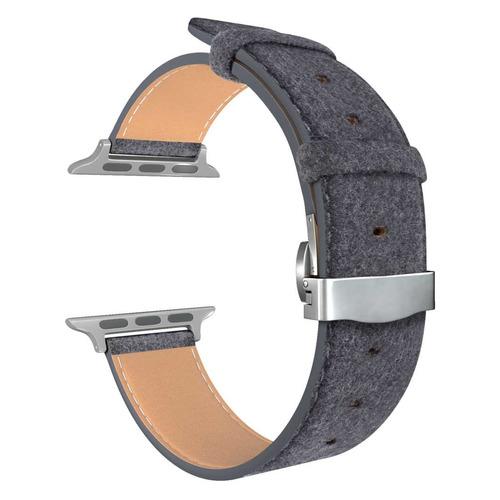 Ремешок Lyambda Minkar для Apple Watch Series 3/4/5 черный (DSP-10-40) NONAME