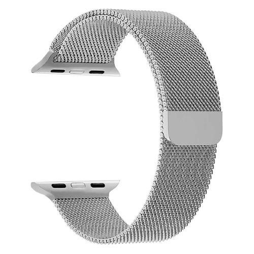 Ремешок Lyambda Capella для Apple Watch Series 3/4/5 серый (DS-APM02/2-44-SL) NONAME