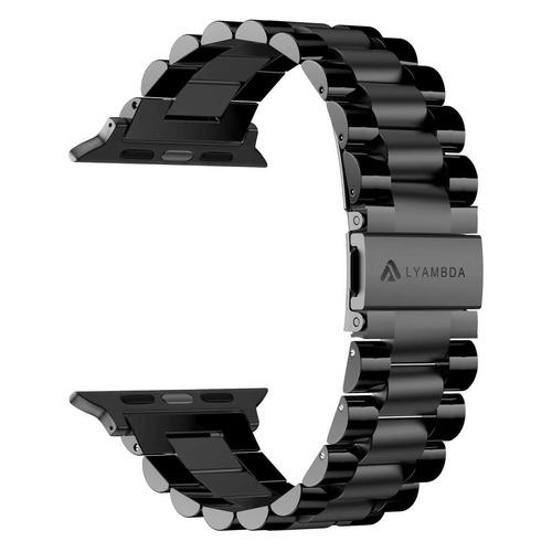 Ремешок Lyambda Keid для Apple Watch Series 3/4/5 черный (DS-APG-02-44-BL) NONAME