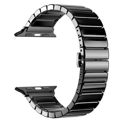 Ремешок LYAMBDA KEID для Apple Watch Series 3/4/5 черный (DS-APG-02-40-BL) NONAME