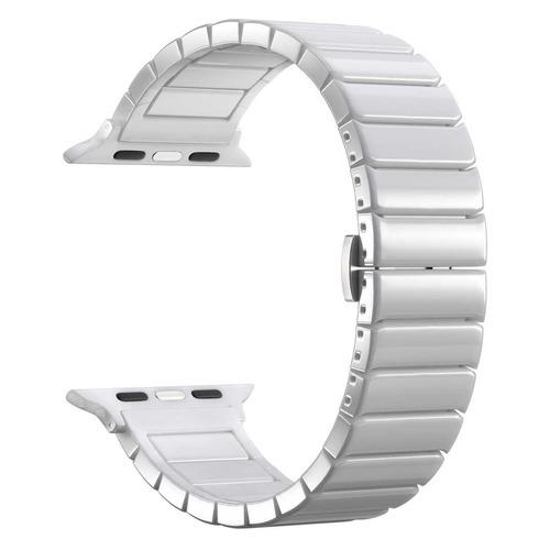 Ремешок Lyambda Libertas для Apple Watch Series 3/4/5 белый (DS-APG-06-44-WH) цена