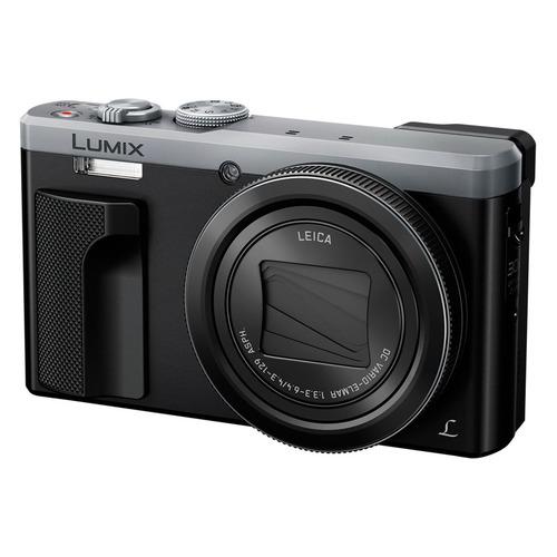 Цифровой фотоаппарат PANASONIC Lumix DMC-TZ80EE-S, серебристый
