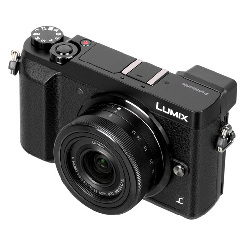 Фотоаппарат PANASONIC Lumix DMC-G80MEE-K kit ( Lumix G Vario 12-60мм/F3.5-5.6 ASPH/Power O.I.S.), черный PANASONIC