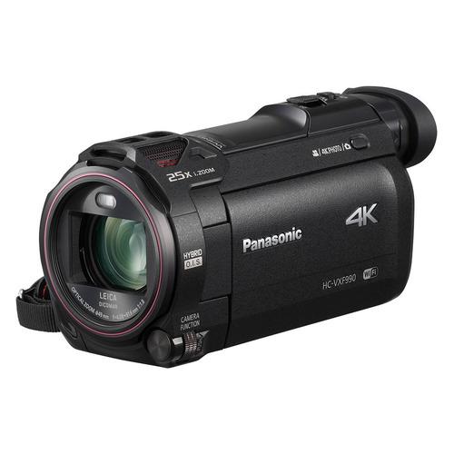 Видеокамера PANASONIC HC-VXF990EEK, черный, Flash PANASONIC