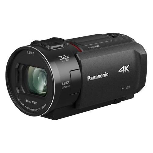Видеокамера PANASONIC HC-VX1EE-K, черный, Flash