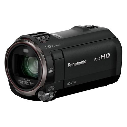 Фото - Видеокамера PANASONIC HC-V760EE-K, черный, Flash видеокамера panasonic hc mdh3e black