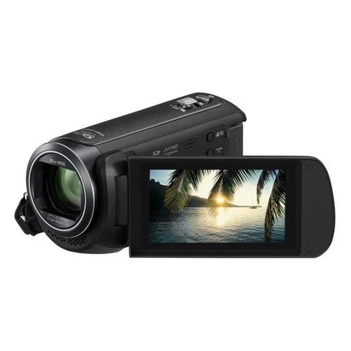 Видеокамера PANASONIC HC-V380EE-K, черный, Flash