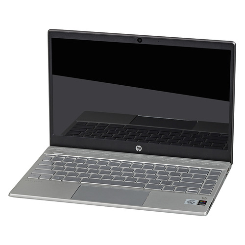Ноутбук HP Pavilion 13-an1013ur, 13.3, IPS, Intel Core i7 1065G7 1.3ГГц, 8Гб, 512Гб SSD, Intel Iris Plus graphics , Windows 10, 8PJ96EA, серебристый/черный