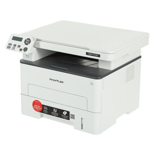 МФУ лазерный PANTUM M6700D, A4, лазерный, серый
