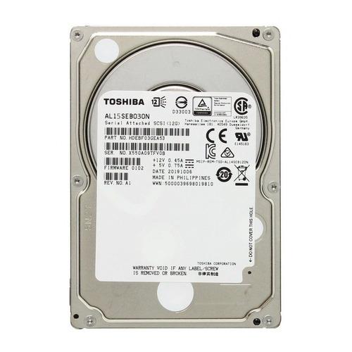 Жесткий диск TOSHIBA AL15SEB030N, 300Гб, HDD, SAS 3.0, 2.5