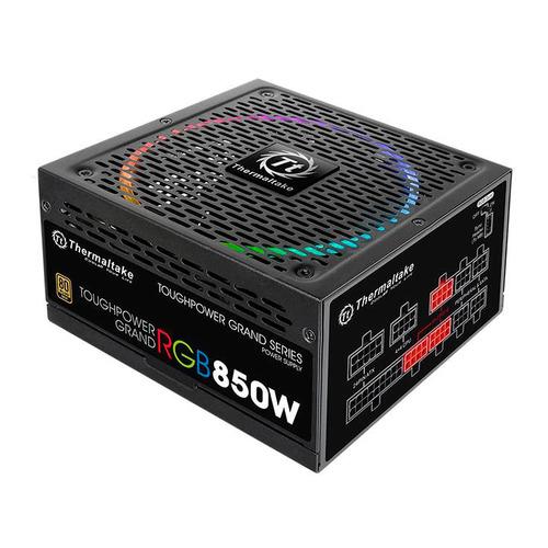 Блок питания THERMALTAKE Toughpower Grand RGB Sync, 850Вт, 140мм, черный, retail [ps-tpg-0850fpcgeu-s]