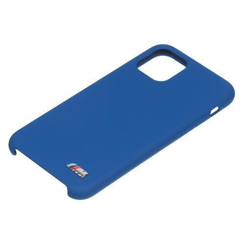 Чехол (клип-кейс) BMW Silicon case, для Apple iPhone 11 Pro Max, красный [bmhcn65msilre] NONAME