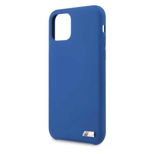 Чехол (клип-кейс) BMW Silicon case, для Apple iPhone 11 Pro Max, синий [bmhcn65msilna] NONAME