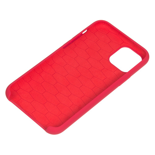 Чехол (клип-кейс) BMW Silicon case, для Apple iPhone 11 Pro, красный [bmhcn58msilre] NONAME