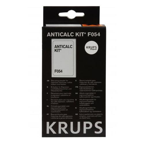 Очиститель от накипи для кофеварок и кофемашин Krups F054001B 100гр (упак.:2шт) жидкость для очистки krups xs900031 100 мл х 2