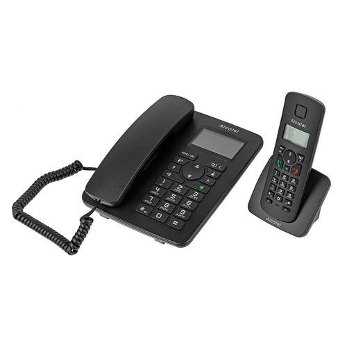 Фото - Радиотелефон ALCATEL M350 Combo RU, черный [atl1421262] радиотелефон alcatel smile grey