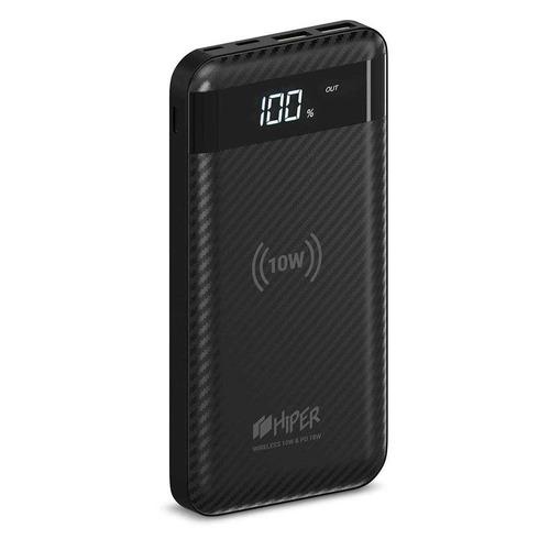 цена Внешний аккумулятор (Power Bank) HIPER SX10000, 10000мAч, черный онлайн в 2017 году