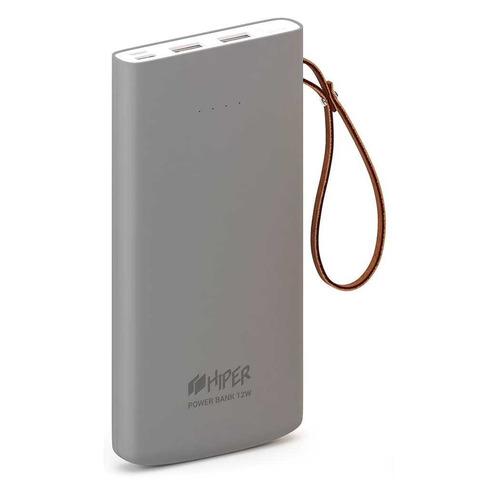 цена Внешний аккумулятор (Power Bank) HIPER Travel10K, 10000мAч, серый онлайн в 2017 году