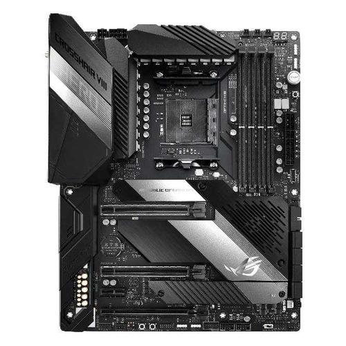 Материнская плата ASUS ROG CROSSHAIR VIII HERO, SocketAM4, AMD X570, ATX, Ret цена и фото