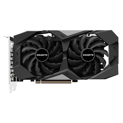 Видеокарта GIGABYTE nVidia GeForce GTX 1650 , GV-N1650WF2-4GD, 4Гб, GDDR5, Ret видеокарта gigabyte geforce gtx 1050 ti gv n105toc 4gd 4гб gddr5 retail