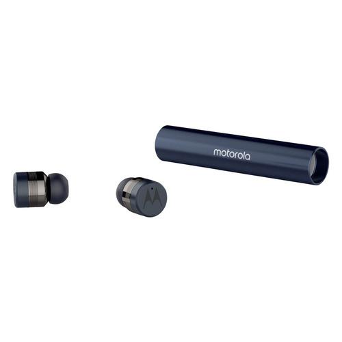 цена на Наушники с микрофоном MOTOROLA Vervebuds 300, Bluetooth, вкладыши, темно-синий [sh032rb]
