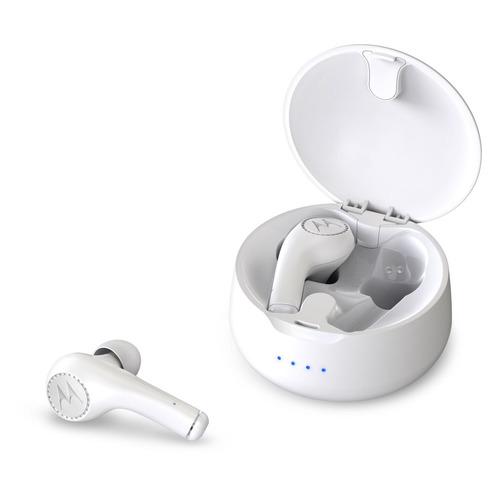 цена на Наушники с микрофоном MOTOROLA Vervebuds 500, Bluetooth, вкладыши, белый [sh022wh]