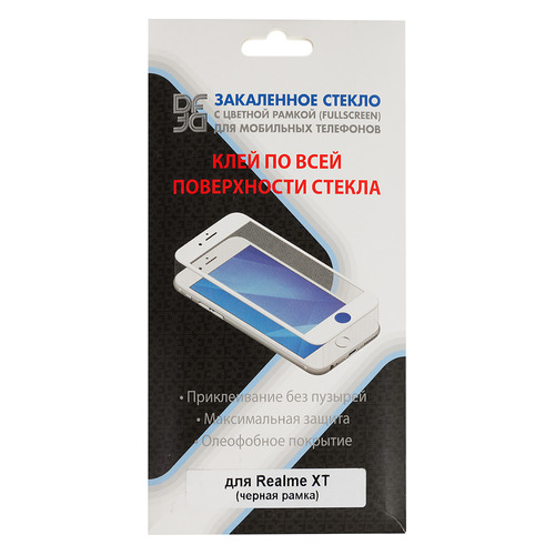 Защитное стекло для экрана DF hwColor-109 для Huawei Mate 30 Pro, прозрачная, 1 шт, черный [df hwcolor-109 (black)] DF