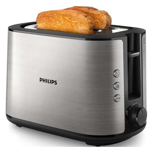 Фото - Тостер PHILIPS HD2650, серебристый [hd2650/90] тостер philips hd 2581 90