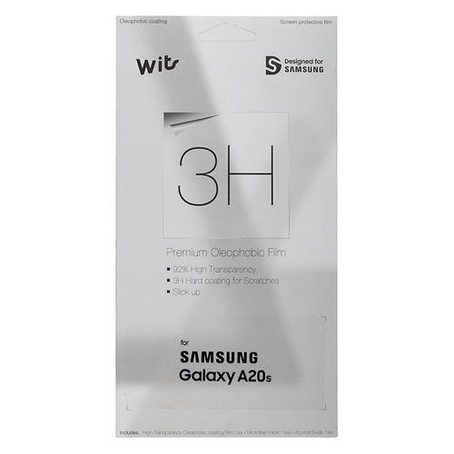 Защитная пленка для экрана SAMSUNG Wits для Samsung Galaxy A20s, прозрачная, 1 шт, прозрачный [gp-tfa207wsatr] стоимость
