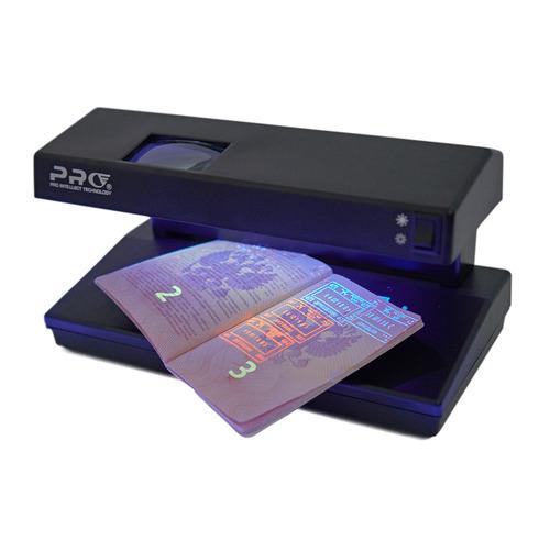 Детектор банкнот PRO 12 LPM LED Т-06797 просмотровый мультивалюта PRO