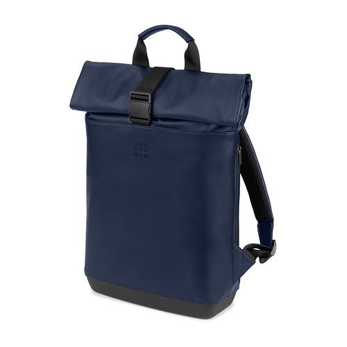 Рюкзак Moleskine CLASSIC ROLLTOP (ET86RBKB20) 36x48x11см 18л. 1.5кг. эко-кожа синий сапфир рюкзак classic small синий сапфир