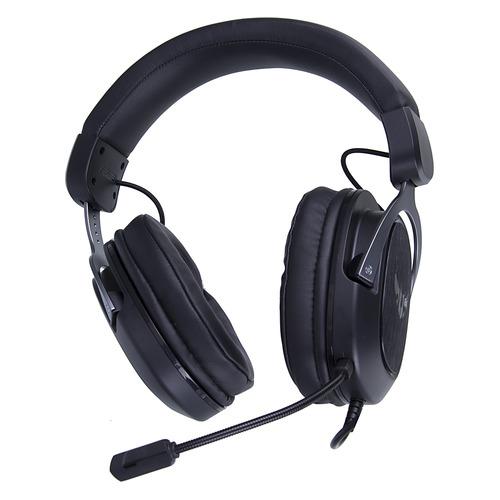 Гарнитура игровая ASUS TUF Gaming H3, для ПК и игровых консолей, мониторы, черный / титан [90yh028g-b1ua00] наушники с микрофоном asus strix 2 0 мониторы черный [90yh00h1 b1ua00]