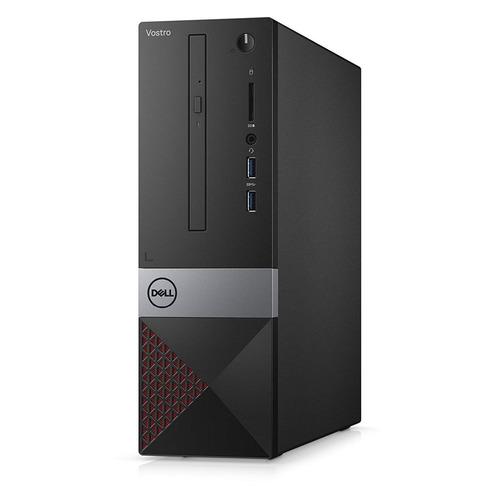 Компьютер DELL Vostro 3470, Intel Pentium G5420, DDR4 4Гб, 1000Гб, Intel UHD Graphics 610, DVD-RW, CR, Linux Ubuntu, черный [3470-3820]