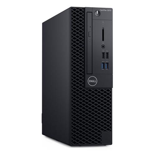 Компьютер DELL Optiplex 3070, Intel Core i3 9100, DDR4 8ГБ, 256ГБ(SSD), Intel UHD Graphics 630, DVD-RW, Linux Ubuntu, черный [3070-1908] компьютер dell vostro 3471 intel core i5 9400 ddr4 8гб 256гб ssd intel uhd graphics 630 dvd rw cr ubuntu черный [3471 9157]
